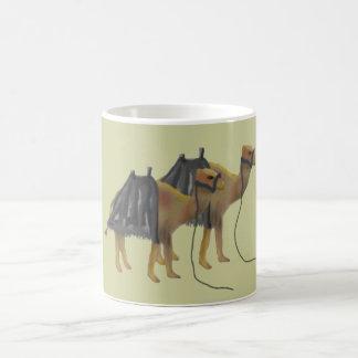 Kamele in der Wüste Tasse