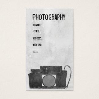 Kamera-Fotografie-Visitenkarte Visitenkarten