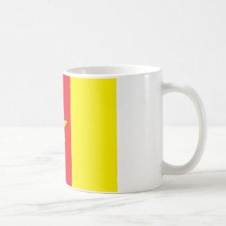Kamerun-Flagge Kaffeetasse