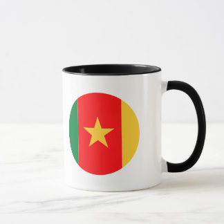 Kamerun-Flagge Tasse