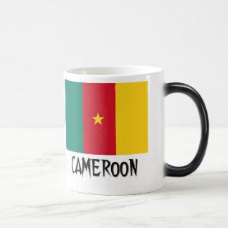 Kamerun-Flagge Verwandlungstasse