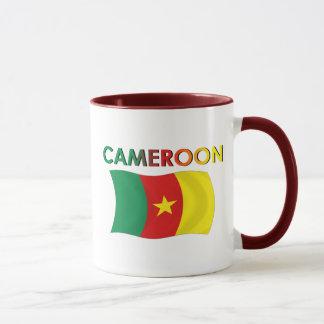 Kamerun-Flaggen-Tri Farbe Tasse