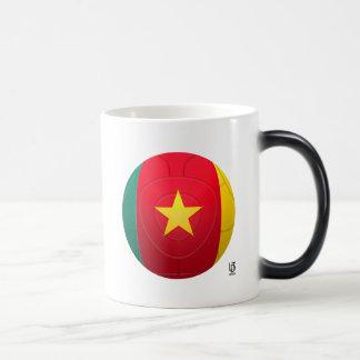 Kamerun - Les Löwen Indomables Fußball Verwandlungstasse