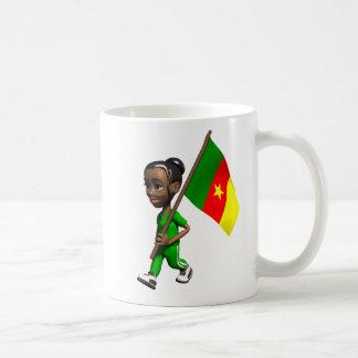 Kamerunisches Mädchen Tasse