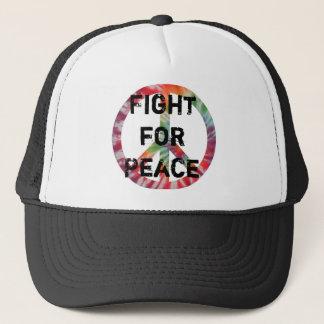 Kampf für Friedenshut Truckerkappe