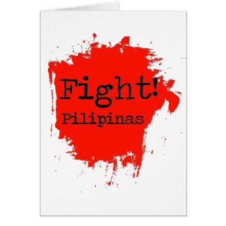 Kampf Pilipinas Grußkarte