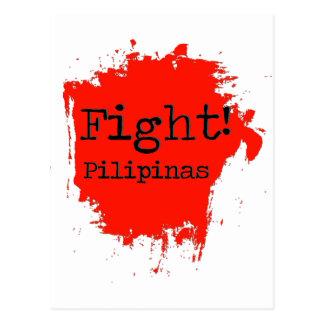 Kampf Pilipinas Postkarte