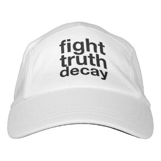 Kampf-Wahrheits-Zerfall Headsweats Kappe
