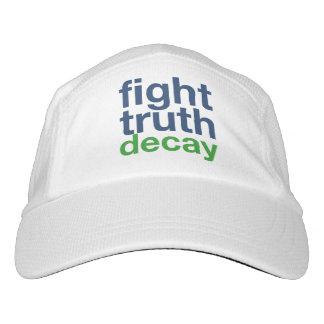 Kampf-Wahrheits-Zerfall! Widerstehen Sie Trumpf! Headsweats Kappe