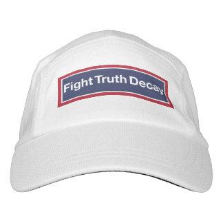 Kampf-Wahrheits-Zerfall. Widerstehen Sie Trumpf! Headsweats Kappe