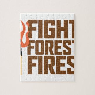 Kampf-Waldbrände Puzzle