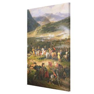 Kämpfen Sie Berg Thabor, Detail Napoleon und seins Leinwand Drucke