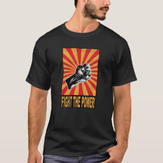 Kämpfen Sie den Power - Protest T-Shirt
