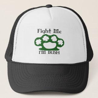 Kämpfen Sie mich, den ich irisch bin Truckerkappe