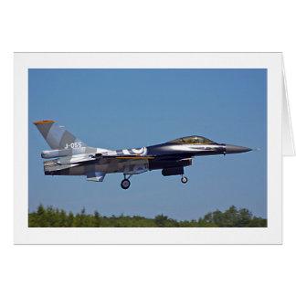 Kämpfender Falke F16 Karte