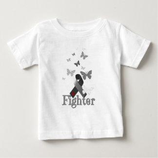 Kämpfer-Diabetes-Bewusstseins-Band Baby T-shirt