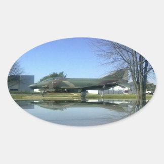 Kämpfer-Flugzeug (F4-Phantom) Aufkleber