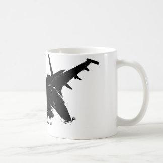 Kämpfer-Jet-TASSE! Tasse