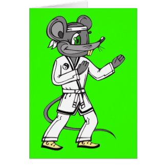 Kampfkunst-Mäusemäuse Karte