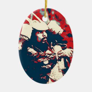 Kampfkünste bushido japanische Krieger Samurais Keramik Ornament