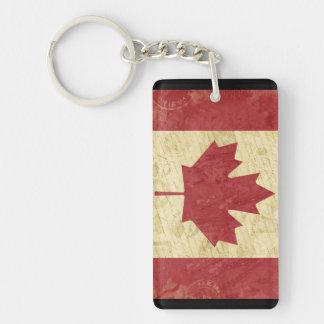 Kanada-Flaggen-Schlüsselketten-Andenken Schlüsselanhänger
