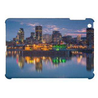 Kanada, Montreal, Skyline und alter Hafen iPad Mini Hülle