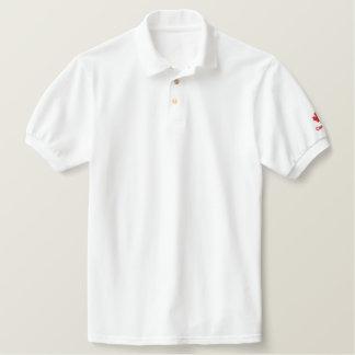 Kanada-Polo-Shirt - roter kanadischer Ahorn Polo Hemd