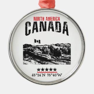 Kanada Silbernes Ornament