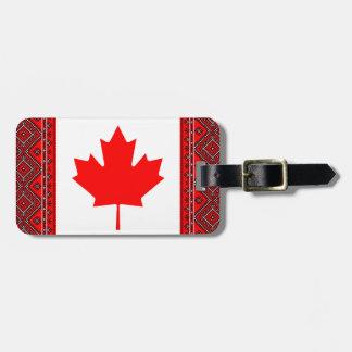 Kanada Ukraine kennzeichnet Gepäckanhänger