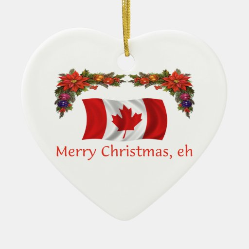 kanada weihnachten ornamente zazzle. Black Bedroom Furniture Sets. Home Design Ideas