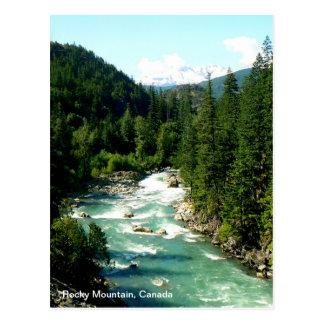 Kanadische felsiger Gebirgspostkarte Postkarte