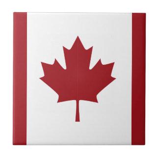 Kanadische Flagge Kleine Quadratische Fliese