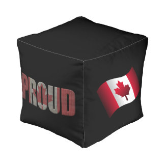 Kanadischer Stolz Kubus Sitzpuff