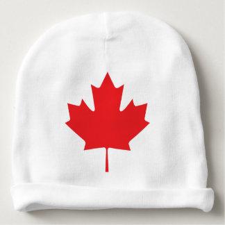 Kanadisches Ahornblatt Babymütze