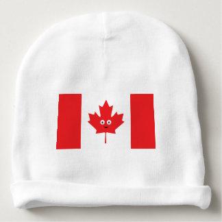 Kanadisches Ahornblatt-Gesicht Babymütze