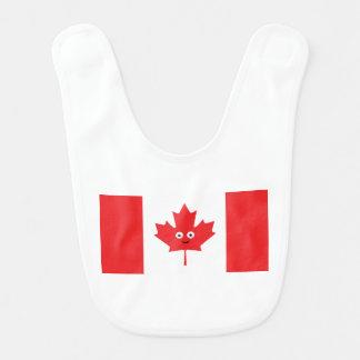 Kanadisches Ahornblatt-Gesicht Lätzchen