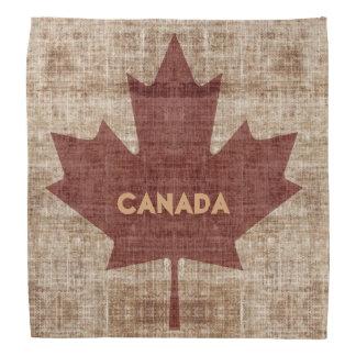 Kanadisches Flaggen-Ahornblatt des Schmutzes Kopftuch