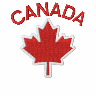 Kanadisches Stickerei-Ahornblatt gesticktes Polo