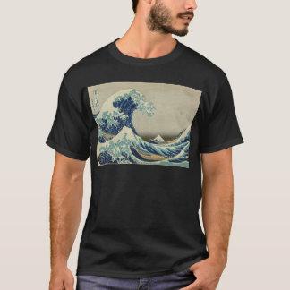 Kanagawa-Welle durch Katsushika Hokusai T-Shirt