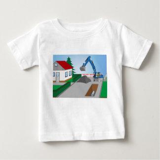 Kanalbaustelle Baby T-shirt
