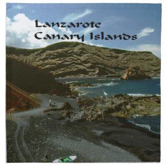 Kanarische Inseln Lanzarote Stoffserviette