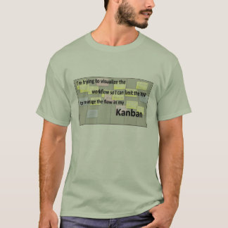 Kanban bewegliches Brett T-Shirt