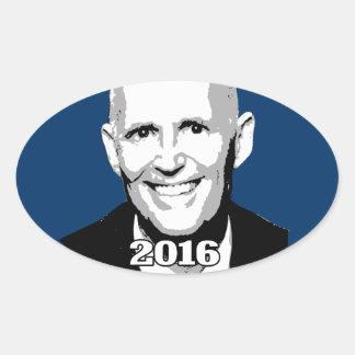 KANDIDAT 2016 RICK SCOTT OVALER AUFKLEBER - kandidat_2016_rick_scott_ovaler_aufkleber-r569344dc93f646d9bf0870eb9f6ba56c_v9wz7_8byvr_324