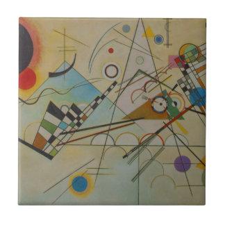 Kandinsky Zusammensetzung VIII Keramikfliese