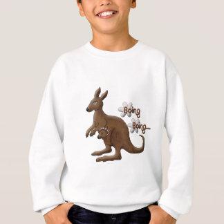 Känguru und Baby-Känguru in den Beutel-Sweatshirts Sweatshirt