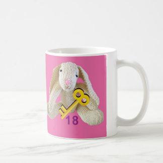 Kaninchen 18-Geburtstags-Tassengeschenktochter Tasse