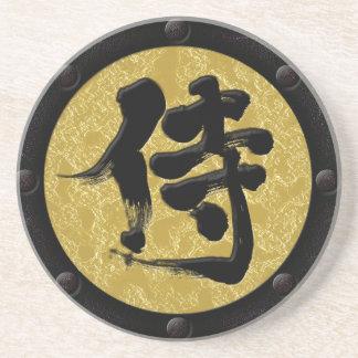 [Kanji-] Samurai Yoroi Art Getränkeuntersetzer