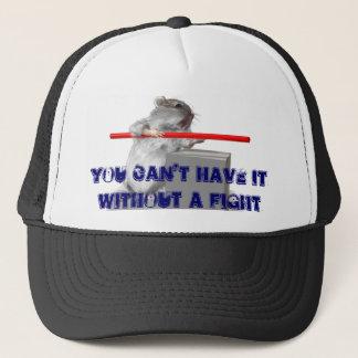 Kann es nicht ohne einen Kampf haben Truckerkappe