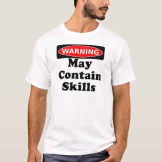 Kann Fähigkeiten enthalten T-Shirt