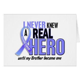 Kannte nie einen Bruder-Prostatakrebs des Held-2 Karte